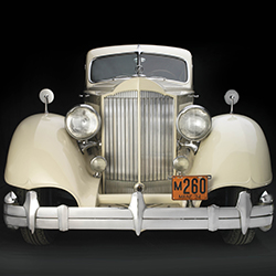 1934 Packard Twelve Model 1106 Sport Coupe Image Copyright Peter Harholdt